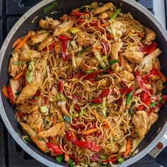 Simple Yakisoba Noodles Recipe - Momsdish Yakisoba Noodles Recipe, Japanese Noodle Dish, Beef Lo Mein Recipe, Small Cabbage, Japanese Chicken, Chicken Noodle Recipes, All Vegetables, Asian Cooking, Chinese Recipes