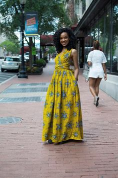 Maxi INFINITY in yellow by ofuure on Etsy