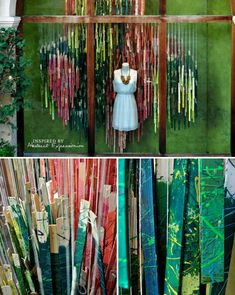 I always love Anthropologie windows, but this latest round inspired by abstract expressionism really blew me away.