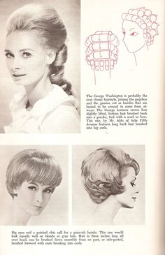 1960's Hairstyles Late 1960's Roller Set Hairstyle 60's  Pinterest  Roller Set