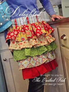 You can miss this Digital magazine from Amanda Herring AKA The Quilted Fish using Delighted!