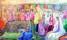 triptych wedding Vladimir Yanovsky