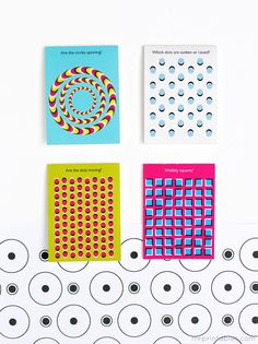 Optical Illusion Lunch Box Notes for Kids | Printable from Mr. Printable | perfect!