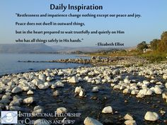 For full devotionals that will inspire you, visit www.holylandmoments.org/devotionals  #quote #inspirational #God #Peace