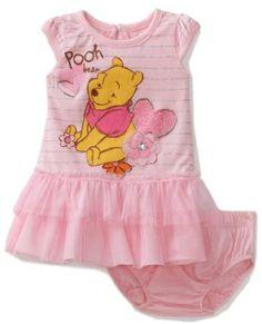 Amazon.com: Disney Baby-Girls Infant Winnie Dress and Panty Set: Clothing