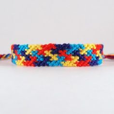 Autism Awareness Friendship Bracelet