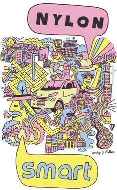 Illustration / Murals - Andy J. Miller - Art & Design