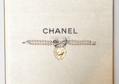 They say diamonds are a girl's best friend; we say CHANEL diamonds (and pearls) are a girl's best friend. Every inch of CHANEL Joaillerie is a nod to Coco Bracelet Chanel, Chanel Jewelry, Gold Jewelry, Jewelry Box, Fashion Jewelry, Jewellery, Chanel Pearls, Coco Chanel, Gold Chains For Men