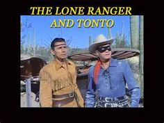 The Lone Ranger. Clayton Moore and Jay Silverheels