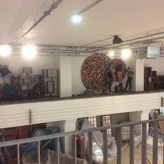 Visual merchandising... Its moving forward in our biggest flagshipstore in munich  #karekraftwerk #openingsoon #munich #furnitureshop #workinghard