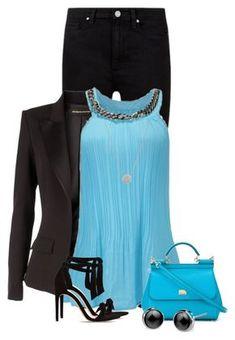 Paige Denim, Alexandre Vauthier, Alexandre Birman and Dolce&Gabbana Pretty Outfits, Beautiful Outfits, Stylish Outfits, Cool Outfits, Sexy Outfits, Work Fashion, Fashion Looks, Fashion Outfits, Womens Fashion
