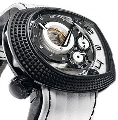 Ladoire Roller Guardian Time - Punk Rock White - luxury watches online