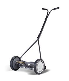 The earth friendly, non-carbon foot print products of the American Lawn Mower Company has not changed since 1895. No fumes, no start-up hassles, just the smell of a freshly cut lawn...