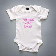 Body bebé Barbie Mala Leche - Body de Dálmata - Moda Infantil