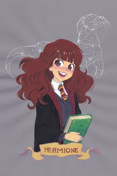Hermione Granger via Galou Store. Click on the image to see more!