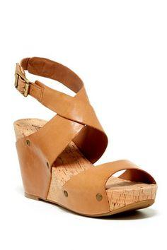 Moran Platform Wedge Sandal by Lucky Brand on @HauteLook