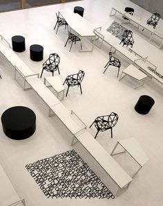 Panta Rhei College interior by Dutch design group i29