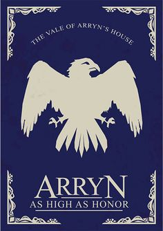 House Arryn Game of Thrones (poster minimalista) Game Of Thrones Sigils, Game Of Thrones Poster, Game Of Thrones Cast, Game Of Thrones Houses, Casas Game Of Thrones, Game Of Theones, Fandom Games, High Fantasy, Fire And Ice