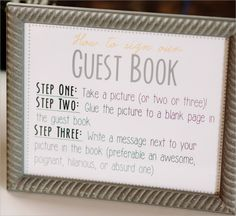 Image result for guest book template