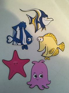 Finding Nemo Set Of 16 Die Cuts