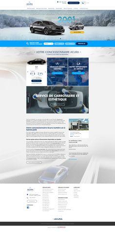 Best web design for car dealers. Get Inspired Today! Web Design Inspiration, Creative Inspiration, Small Luxury Cars, La Rive, Best Web Design, Julie, Used Cars, Car Websites, Car Dealers