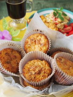 Maseca Muffins with Huacho Sausage // Peru Delights