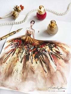 Artclaytion - Chan Clayrene Fashion Illustration