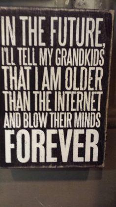 i am older than the internet