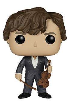 Funko POP TV: Sherlock - Sherlock Holmes with Violin Action Figure -