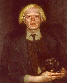 Jamie Wyeth - Andy Warhol - 1976