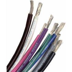 Ancor Marine Grade Tinned Copper Primary Wire, 10 ga, Red