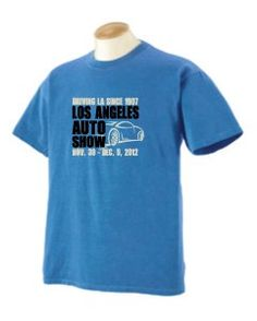 LA Auto Show Store - Youth Sky Blue Garment-Washed Tee, $18.00 (http://www.laautoshowstore.com/youth-sky-blue-garment-washed-tee/)