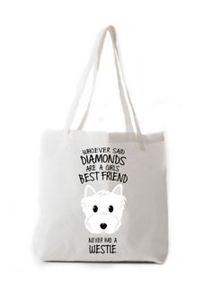 Whoever Said Diamonds Are A Girls Best Friend..Tote Bag