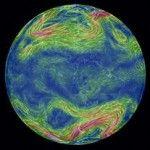 Il mappamondo del vento: earth wind map.