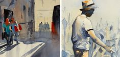 Figure Painting in Watercolor