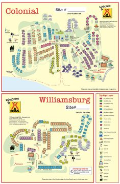Ocean Lakes Family Campground Map In 2019 Favorite