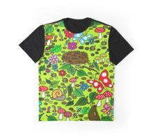 'Hand Drawn Cartoon Garden Animals And Insects Scene' by jaggerstudios Cartoon Garden, Garden Animals, Funky Outfits, Cartoon T Shirts, Tank Man, How To Draw Hands, Scene, Mens Tops, Clothes
