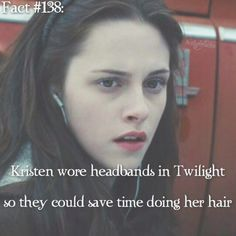 I kinda hate that she wore headbands for all this movie