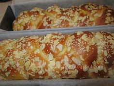 Biscotti Recipe, Greek Cooking, Tasty, Yummy Food, Bread Cake, Greek Recipes, Easter Recipes, Sweet Bread, Holiday Baking