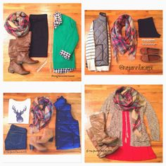 Four Season Fabulous: 2014 Closet Remix Challenge. outfit ideas, outfit planning, bows, polka dots, plaid, leopard, jcrew necklace, boots, herring bone vest, stripes, deer, zara blanket scarf, sweaters