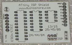 Solder 20Pin IC Header for ATTiny ISP Shield
