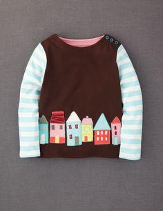 Storybook Appliqué T-shirt - adorable children's clothing   Inspiration
