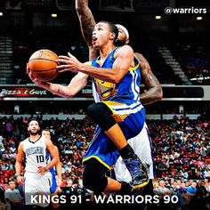 The Warriors struggled in the fourth quarter and suffered a 91-90 preseason loss to the Kings tonight in Sacramento. After leading by as many as 17 points in the game, Golden State scored just nine in the final quarter. Before the fourth-quarter coldspell, Stephen Curry had it going. He knocked down four 3-pointers in the third quarter alone and finished with a game-high 24 points and six assists, while Klay Thompson added 16 points of his own. Game Recap at warriors.com/gameday