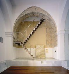 Refurbisment of church in Vera (Almería) Spain. Cano y Ridao architects.