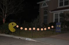 Decorations for Pac Man Party