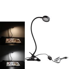 Snkey 8W Dimmable LED Desk Lamp, 3 Dimmable Light Color(Cold&Warm&Natural), Brightest Clip On Light, 2-Level Dimmer Book Light with US Adapter(Black). Three dimmable light color (Cold&Warm&Natural), each color has 2-Level Dimmer, each color can be used alone, you can also use two colors at the same time, you can adjust the total of eight different colors. The modern and flexible metal gooseneck provides great natural light right. Excellent for college and university students who need…