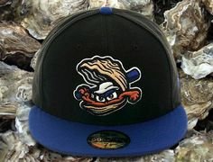 789036b442ffb Biloxi Shuckers 59Fifty Fitted Cap by NEW ERA x MiLB x BRANDIOSE Fitted  Baseball Caps
