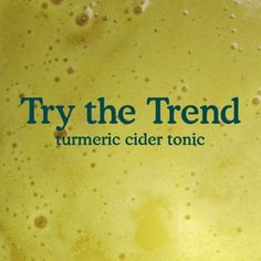 Turmeric-Cider Tonic // This warm tonic is particularly well suited to the fall and winter, when fresh apple cider is readily available. At other times of year, substitute apple juice. Homemade Smoothies, Apple Smoothies, Healthy Smoothies, Healthy Drinks, Vegetable Smoothies, Yogurt Smoothies, Body Detox Drinks, Fat Burning Detox Drinks, Apple Juice