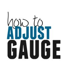 What to do when your gauge doesn't match the pattern's gauge. How to easily adjust gauge.