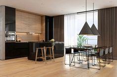 Iryna Dzhemesiuk Visualizes a Stylish Apartment in Tel Aviv | HomeDSGN